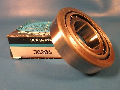 BCA 30206 Tapered Roller Bearing Cone & Cup Set, Japan (Federal, Timken, Bower)