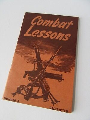 1945 WWII Combat Lessons #5, In Very Fine Condition