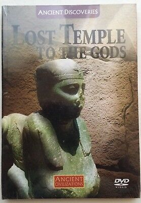 Ancient DIscoveries/ Civilizations Lost Temple Of The Gods DVD