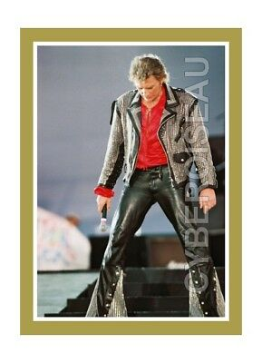 Magnet Johnny Hallyday Total Look Cuir