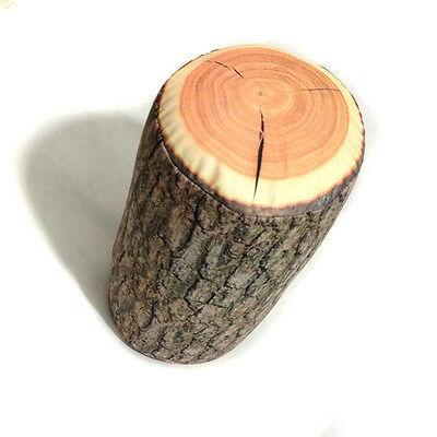 Wood Log Pillow / Tree Stump Woods Texture Throw Pillow In The Cars Cool Decors
