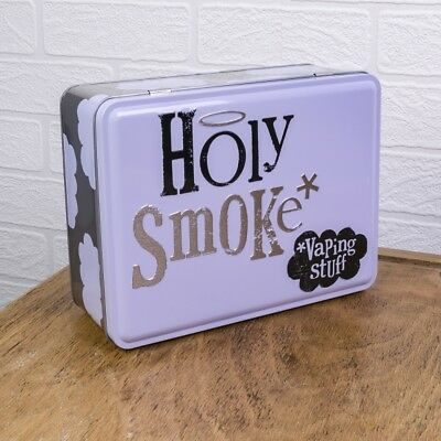 Holy Smoke Stuff Tin -Bright Side -Vape / Vaping - Christmas Gift - Secret Santa