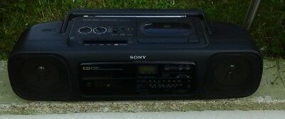 Sony Cd Radio Cassette-Corder Cfd-55L. Boombox Vintage