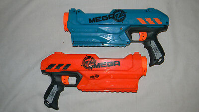 Lot of 2 Nerf Mega Magnus Dart Blasters.