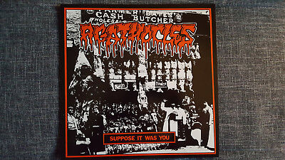 Agathocles / Drudge - Supposed it was... , Split LP , Vinyl , First Press