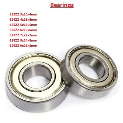 Miniature Deep Groove Ball Bearings 623 624 625 626 627 628 629ZZ Bearing Steel