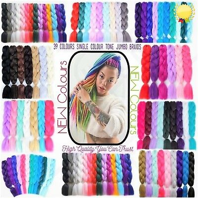 "24"" High Quality Ombre Dip Dye Kanekalon Jumbo Braid Hair 1st Class Delivery"