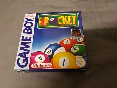 Ovp für Side Pocket Nintendo Gameboy Box Only No Game Game Boy