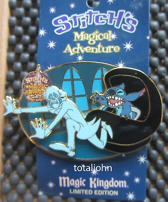 Disney WDW - Stitch's Magical Adventure - The Haunted Mansion Pin