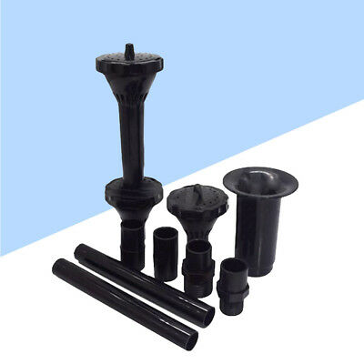 Fountain Pump Nozzle Waterfall Garden Spray Heads for Pool Submersible Pump Pond