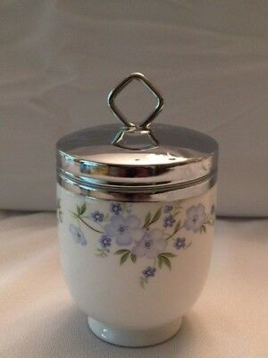 Egg Coddler Rock Garden Double Size Crown Staffordshire