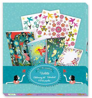 "Djeco Stationery ""Violette"" Kit, Au Seller"