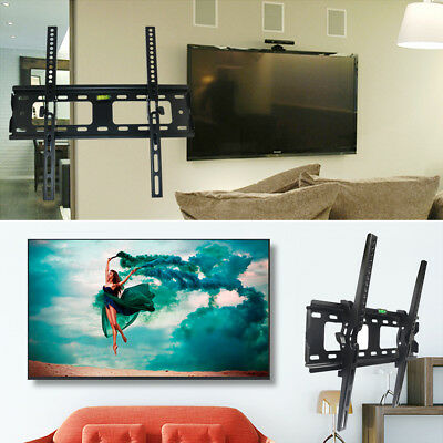 "TV Full Motion Wall Mount Tilt Swivel Bracket 10"" - 70"" Inch LCD LED Flat Screen"
