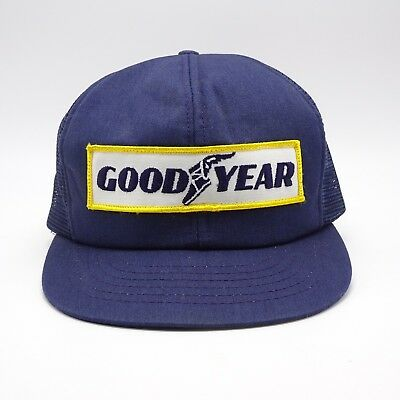 Goodyear Trucker hat Made in USA - Front Patch - Vintage Swingster Snapback  cap 8b399eec3a25