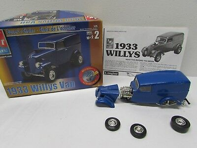 1933 WILLYS VAN Built Model Kit-with box and instructions