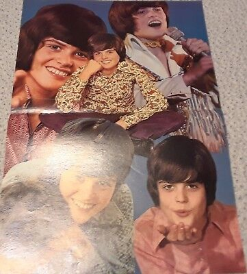 Donny Osmond Centerfold Clipping Poster From A Magazine 70's Osmonds
