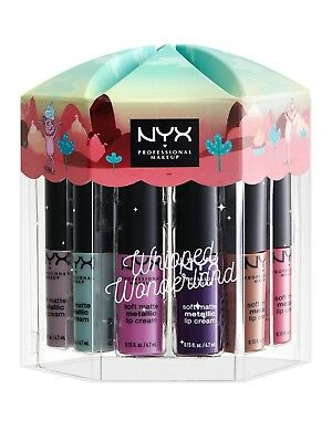 NYX Make Up Whipped Wonderland Soft Matte Metallic Lip Cream Set