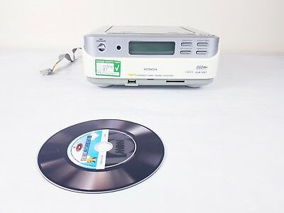 Hitachi  Stereo System ( CD And Mp3 Player Amplifier connection)