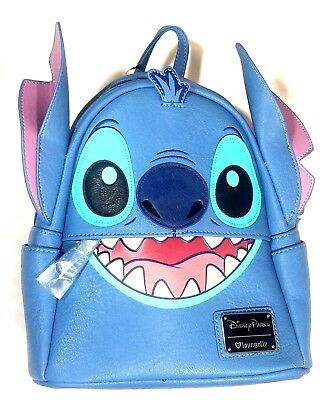 Disney Parks Exclusive Mini Backpack Stitch Loungefly NWT New Release