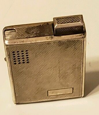 Vintage Sterling Silver ligther & Ronson Lighter 9.25