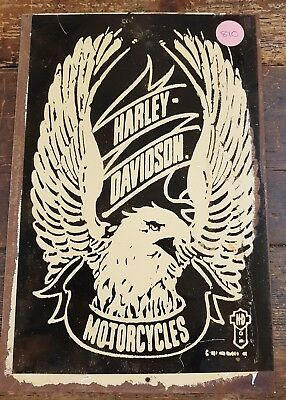 HARLEY DAVIDSON Tin Sign **Great for Man Cave**Australian Made**Free Postage**