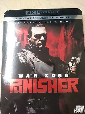 BLU-RAY The Punisher: War Zone (4k Ultra HD, Blu-Ray) NO DIGITAL