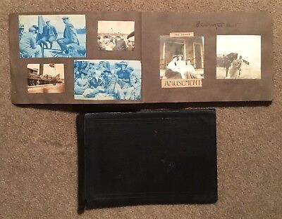 Vintage Photo Album 224 Pictures 1904 - 1908  NY NJ Cars Beaches Yachting Woman