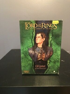 SIDESHOW WETA Workshop - Lord of the Rings (LOTR) GIL-GALAD 1/4 Scale Bust