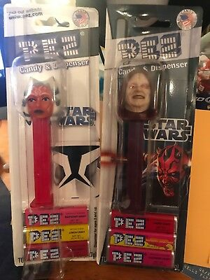 Star Wars Pez Lot