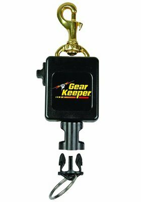Gear Keeper Locking Large Scuba Flashlight Camera Retract Tether Quick Connect
