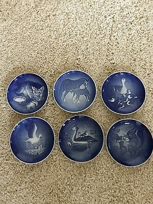 6 Bing and Grondahl mothers day plates