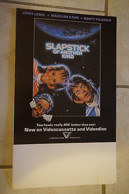 Jerry Lewis Feldman Slapstick of Another Kind movie promo counter card standee
