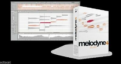 New Celemony Melodyne Studio Bundle 4 Upgrade from Studio 3 Mac PC AAX VST AU