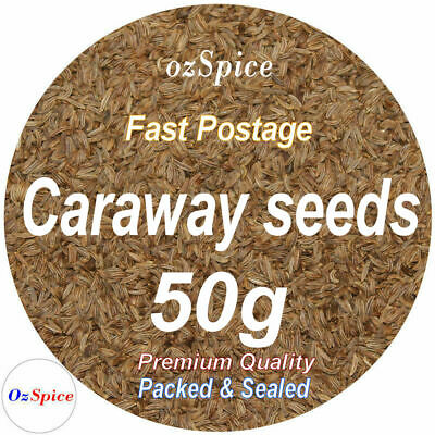 Caraway Seeds 50g Herbs & Spices ozSpice