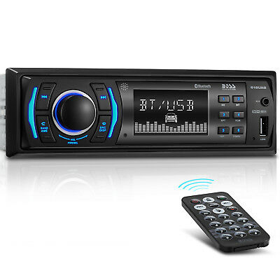 BOSS Audio 616UAB Car Stereo Single 1 Din Bluetooth USB/AUX/AM/FM Radio Player