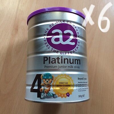 6x a2 Platinum Premium Junior Milk Drink(Stage 4)