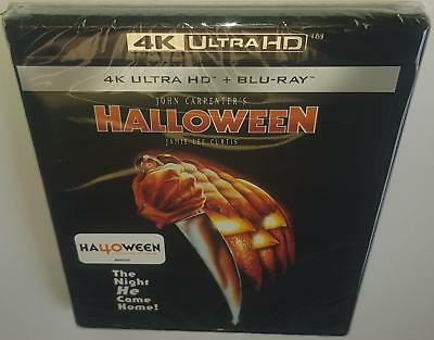 Halloween (2018 Release) Brand New Sealed 4K Ultra Hd Bluray Jamie Lee Curtis