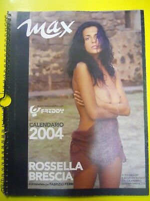 calendario Max ROSSELLA BRESCIA 2004 vintage SELL EVEN ABROAD