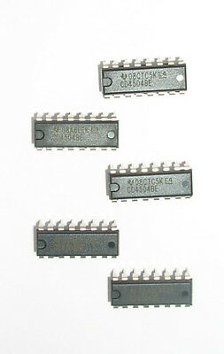 5x CD4504 IC Voltage Level Up/Down Translator TTL/CMOS Converter DIP16 AU STOCK!