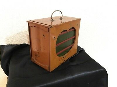 Antique Meiji era Japanese 4 steps Wooden Lacquered lunch box Bento makie