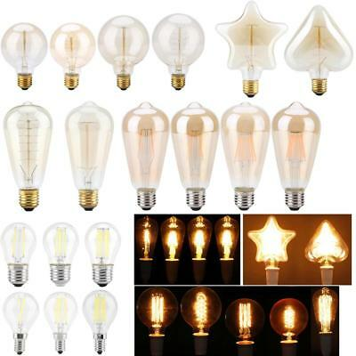 Vintage LED Edison Bulb E27 E14 2W 4W 6W 8W LED Filament Light Retro 220V Lamps