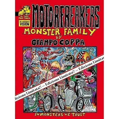 Motorfreakers Monster Family Limited Edition by Prashant Cup Your Face Comix