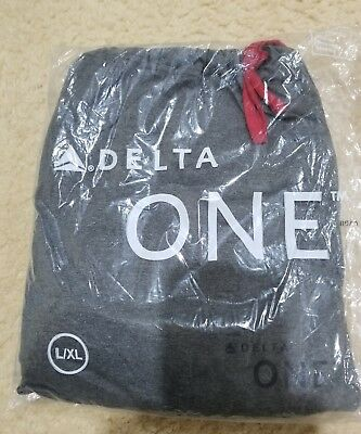 Delta Airlines Business Class Pajamas Large/Xl NEW!!!!