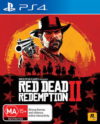 Red Dead Redemption 2 Playstation 4 (PS4) Brand New Sealed - PREORDER 26/10