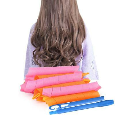 """55CM22"""" Magic Long Hair Curlers Curl Formers Spiral Ringlets Spiral Rollers Tool"""