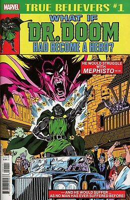 True Believers What If Dr Doom Had Become A Hero #1 Marvel Comics Near Mint