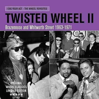 Twisted Wheel Volume 2 New & Sealed Northern Soul Mod R&b Lp Vinyl (Outta Sight)