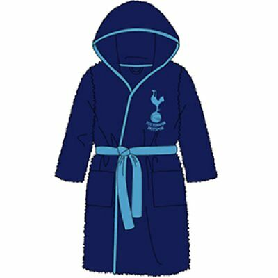 Kids Tottenham  Dressing Gown Official Merchandiseqa804 At Kids Branded Clothing