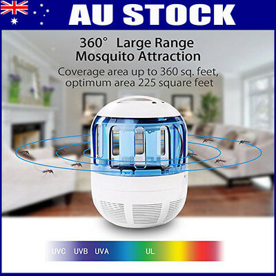 USB Electric LED Light Mosquito Killer Fly Bug Insect Zapper Trap Catcher Lamp H