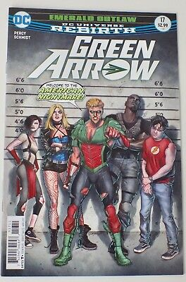 Green Arrow -  DC Universe Rebirth - Issue # 17 - DC Comics - 2017 - NM/VF - 726
